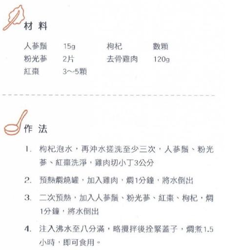 保健坊_燜燒杯食譜_人參雞湯_1